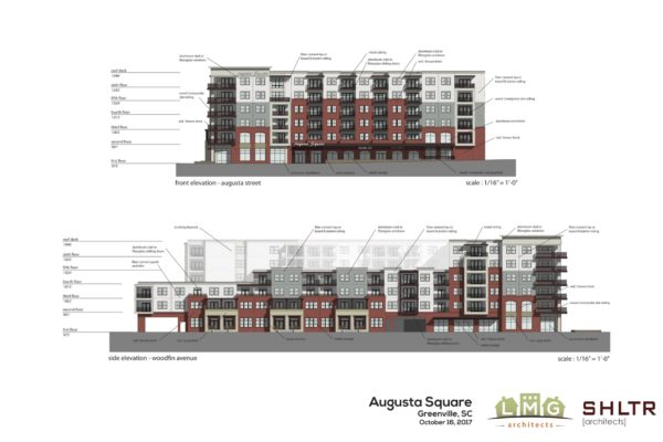 Augusta at Woodfin_Elevations