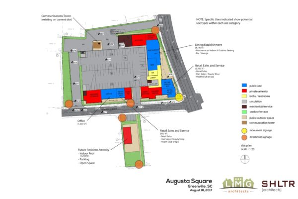 Augusta at Woodfin_Site Drawing