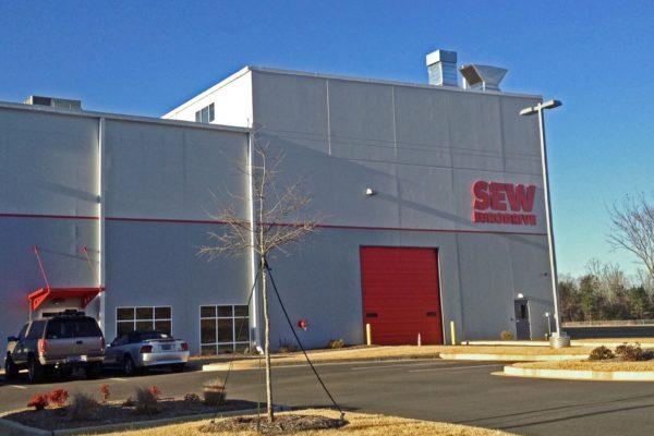 SEW Eurodrive_Warehouse