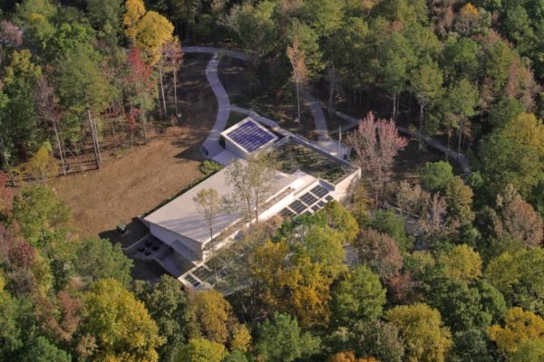 Sweetwater Creek Visitor Center_Aerial