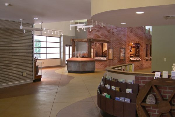 Sweetwater Creek Visitor Center_Interior
