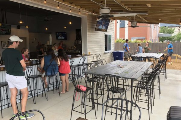 Unleashed Dog Bar_Outdoor Seating